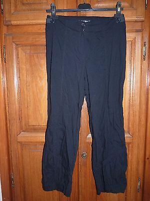 Duplex pantalon 7/8ème noir 36/38 très léger
