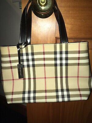 Burberry Hand Bag Purse Authentic Women's
