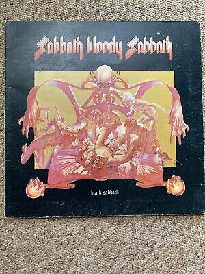 Black Sabbath-sabbath Bloody-gatefold Picture album Vinyl-limited-metal-ozzy