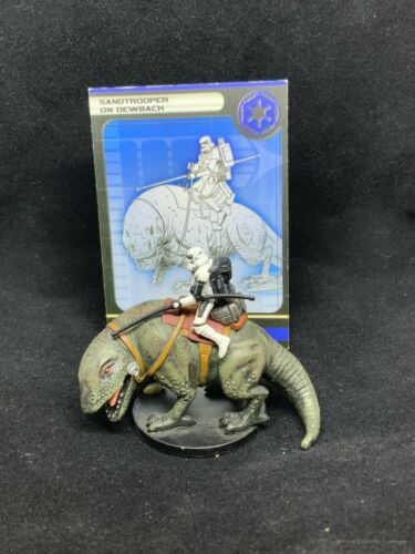 Star Wars Miniatures: Rebel Storm - Sandtrooper on Dewback