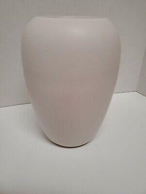 "Vintage MId-Century Scheurich West Germany Ivory/Cream Pottery  5.75""Vase 509-15"