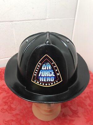 Child's Emergency Rescue Team Hard Hat-Adjustable Size Black