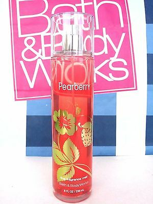 Bath and Body Works PEARBERRY Fragrance Mist Body Splash Spr