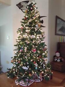 Pre Lit 6ft Christmas Tree Decorative Accessories Gumtree Australia