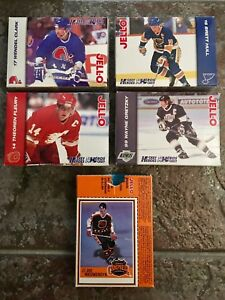 Jello uncut boxes - Hockey cards