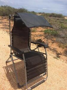 Reclining mesh camping chair/ lounger/ bed  VERY COMFY Perth Perth City Area Preview