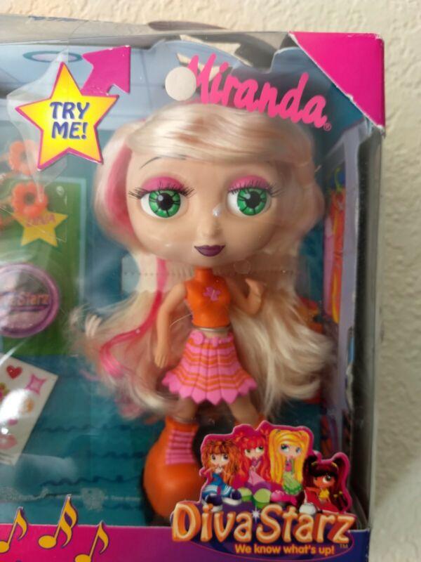 Diva Starz Miranda Poseable Talking Singing Doll 2001 mattel new damaged box