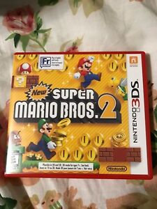 Replacement Case No Game New Super Mario Bros 2 For 3ds Original Game Cases & Boxes