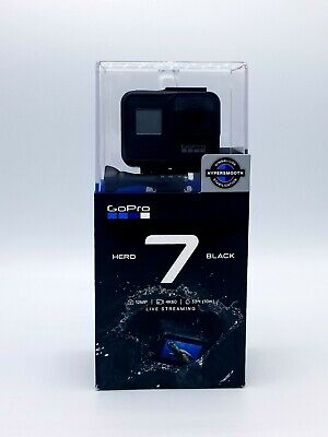 New Factory Sealed GoPro HERO7 Black 12 MP Waterproof 4K Action Camera CHDHX-702