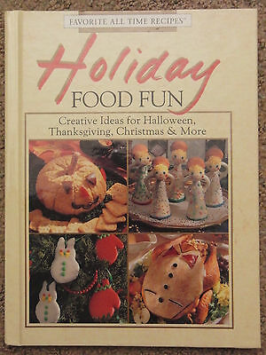 Holiday Food Fun Cookbook 1993 Hard Back Book Party Recipes Halloween Christmas](Halloween Food Party Recipes)