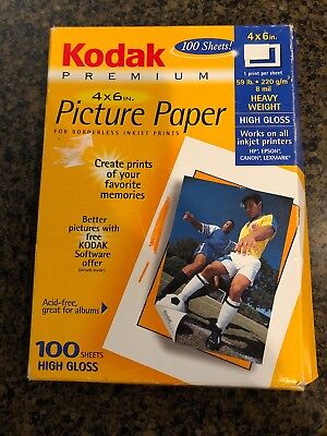 Kodak Ultra Premium Photo paper high gloss 4 x 6