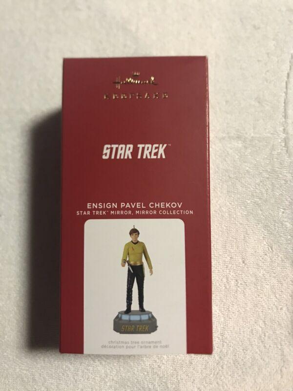 Hallmark Keepsake 2021 Star Trek Mirror Mirror Collection Ensign Pavel Chekov