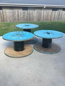 Wooden cable reels / drums x3 Newcastle Newcastle Area Preview