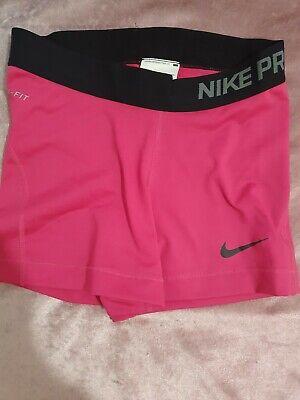 Nike pro shorts Small