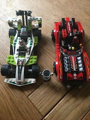 Lego World Racers Set 8898  Cars Transport With Mini figures Lego Exclusive