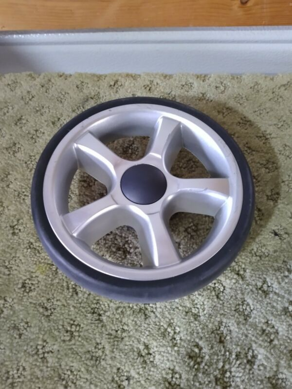 Replacement Wheel (rear wheel) for CHICCO KEYFIT CADDY STROLLER FRAME