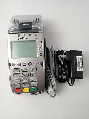 New Verifone Vx520 Ctls Credit Card Terminal - Free Us Priority Mail Shipping
