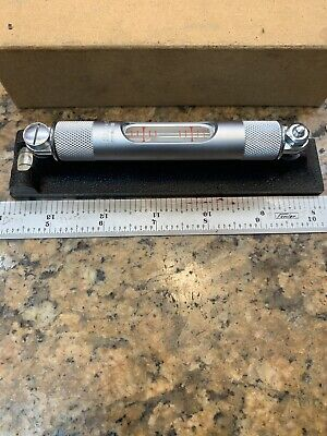 Starrett Machinist Dual Vial Machinist Level 98-6 Outstanding H129