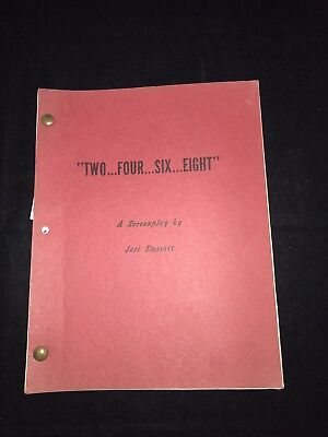 Two four Six Eight Original TV Show SCRIPT Jack Laird 1972