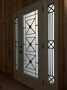 Custom Front Door with 2 side lights Kitchener / Waterloo Kitchener Area image 5