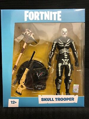 IN HAND - Fortnite Skull Trooper 7 inch Action Figureby McFarlane - SHIPS TODAY
