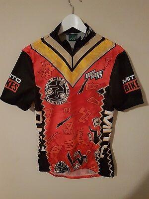 Maillot ciclismo mtb mítica marca mito mountain bike wear nos vintage talla...