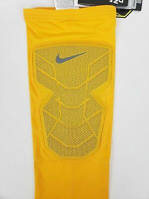 newest fc043 bdc86 Nike Pro Combat Hyperstrong Padded Basketball Shin Guard Sleeve Large Save  40%!