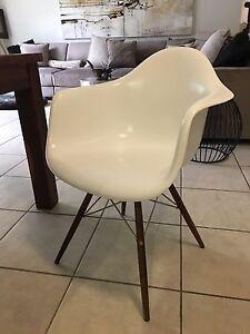 4 x Matt Blatt Replica Eames Dinning Chairs $150 each Little Mountain Caloundra Area Preview