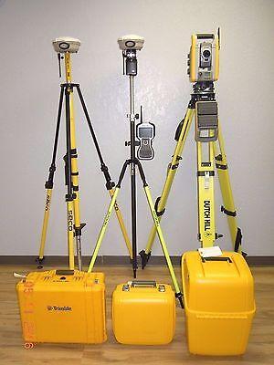 Trimble Is Solution S6 Robotic Total Station R8 Model 2 Gps Gnss Rtk Set Tsc3