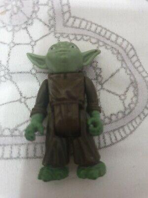 Star Wars Vintage Kenner Yoda. Light Green Variant Hong Kong Co