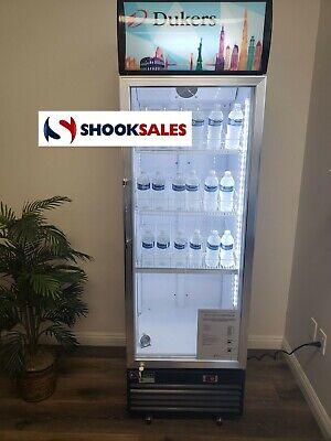 Dukers Dsm-12r 25-inch Glass Door Refrigeration Merchandiser