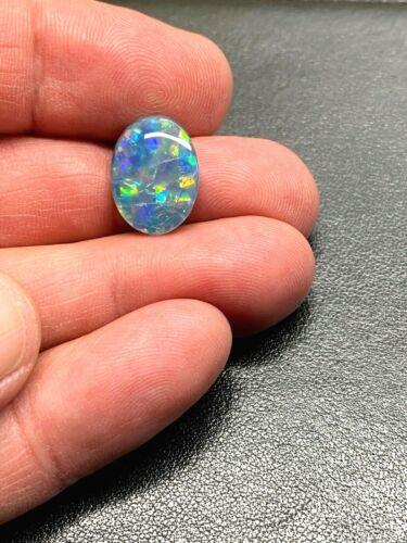 Australian Opal Triplet - Harlequin Pattern - Amazing Color - 6 cts