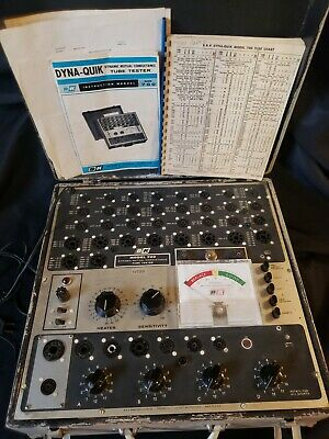 Vintage Bk 700 Dynamic Mutual Conductance Tube Tester Powers On Manuals Chart