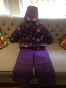 Snow pants & jacket set for girls