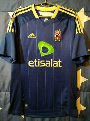 SIZE M Al Ahly Egypt 2011-2012 Away Football Shirt Jersey Adidas image