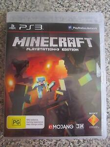 Minecraft For PS3 ***BRAND NEW*** Campbell North Canberra Preview