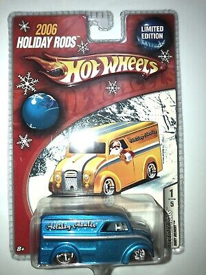 Hot Wheels Holiday Hot Rods Dairy Delivery In Blue Redline Real Riders