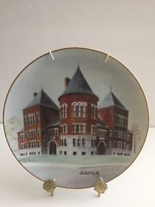 FOR SALE: COLLECTOR PLATE CENTRAL SCHOOL CHATHAM