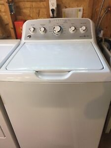 GE high efficiency top load washer