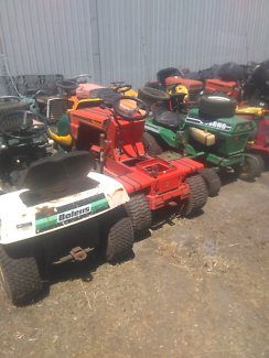 Used second hand ride on mower parts
