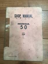 HONDA Z 50 A 1975 SHOP MANUAL St Agnes Tea Tree Gully Area Preview