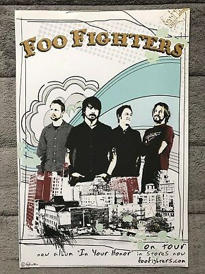 Foo Fighters In Your Honor RARE promo poster '05