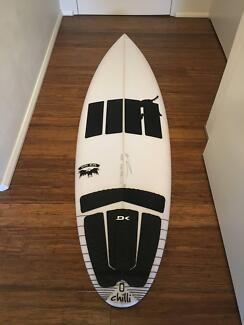 Chili Rare Bird Surfboard 5,10 30,3 liters excellent condition