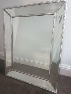 Beautiful studded rectangle mirror - NEW 600mm x 750mm