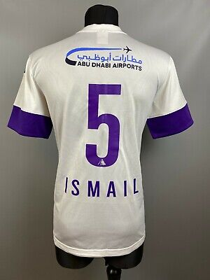 AL-AIN 2014/2015 ISMAIL AWAY MATCH WORN FOOTBALL SOCCER SHIRT NIKE ADULT SIZE L image