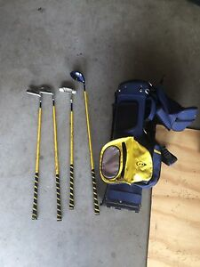 4 Piece Junior Golf Club Set + Golf Bag Oxenford Gold Coast North Preview