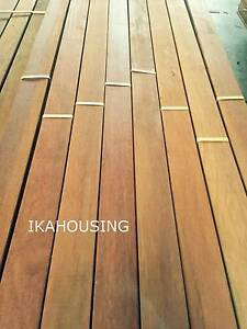 MERBAU DECKING 90X19MM- ONLY $3/M BEST VALUE IN QLD Acacia Ridge Brisbane South West Preview
