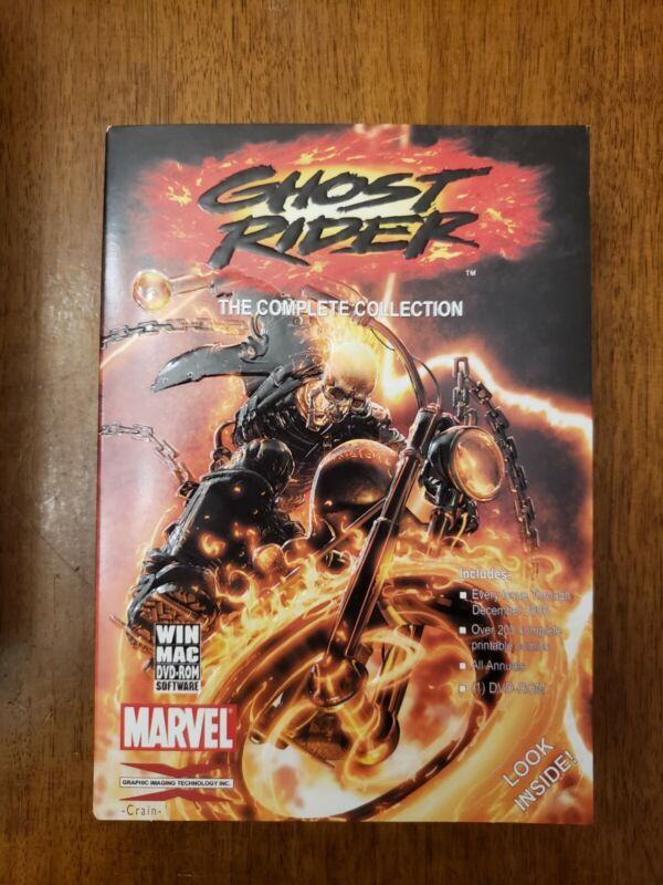 Ghost Rider complete collection DVD-ROM Marvel GIT