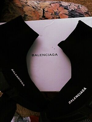 Hot sale Shoe Balenciaga Speed Trainer Runner women's Size9 Black as the picture