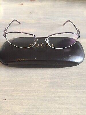 GUCCI GG 2709/STRASS  eyeglasses Frame K76  WOMEN Half Rimless Prescribed (Prescribed Eyeglasses)